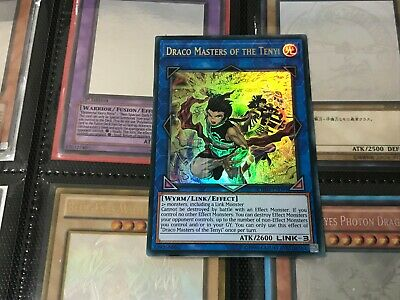 CHIM-EN099 Ultra Rare 1st Edition Near Mint Draco Masters of the Tenyi
