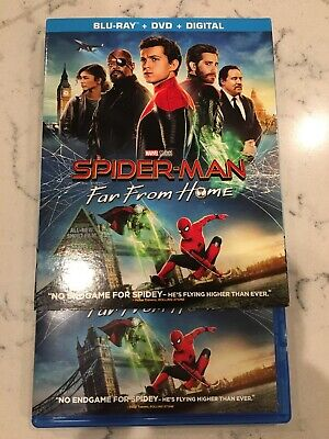 Spider-man: Far From Home (Blu-ray/DVD, 2019) (No Digital)