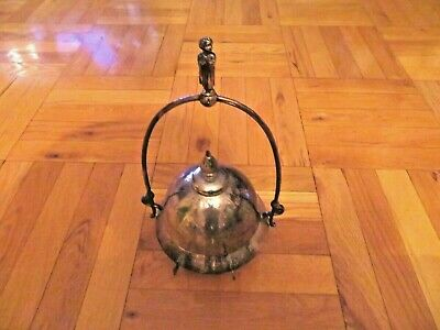 Antique Silver Plated Victorian Meriden Company Butter Server