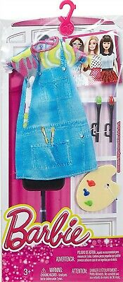 ~DNT93 Barbie FASHIONISTAS CAREERS I CAN BE Painter Artist 2015 Mattel NRFP