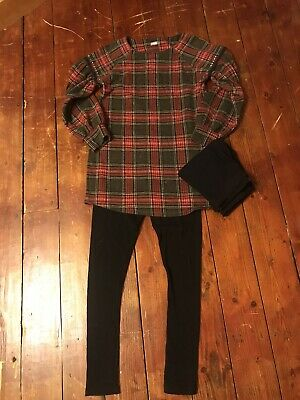 Girls Gorgeous Next Tartan Outfit Aged 12 Years