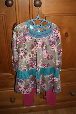 Monsoon girls 2 piece outfit (age 7-8) USED