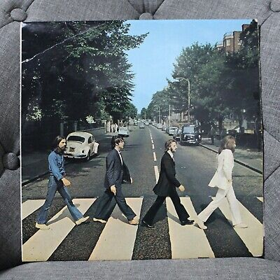 Beatles Abbey Road 1969 Apple Pcs 7088 Uk 1St Press No Her Majesty & Misaligned!