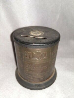Vintage Chicago Souvenir Coin Bank