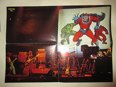 Wings Paul McCartney Linda Blue Oyster Cult Eric Bloom POSTER Germany