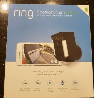 Ring Spotlight Cam Battery-Powered Security Camera
