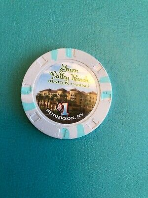 Green Valley Ranch Casino Chip Las Vegas Issued 2001