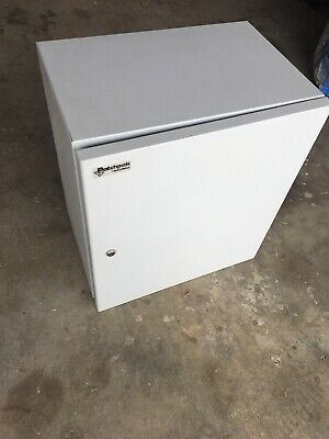 Rack - Data Cabinet With Patch Panels And Switch 12RU 600h x 530w x 335d Overall