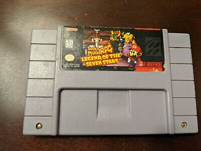 Super Mario RPG: Legend of the Seven Stars SNES Game