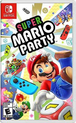 Super Mario Party Standard Edition - Nintendo Switch game *Brand New Sealed*