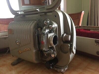 Zeiss Ikon Movilux 8A Film Projector in a hard case, with original handbook