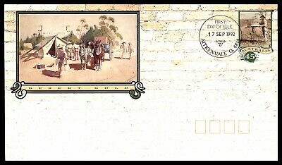 MayfairStamps Australia FDC 1992 Desert gold First Day Cover WWC65083
