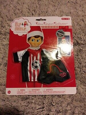 ***New*** RARE The Elf on the Shelf Claus Couture Spirited Soccer Set Clothes