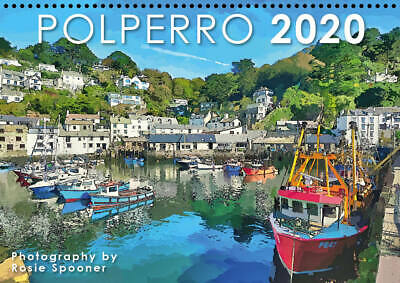 Polperro  2020 calendar A4 with drop down appointments page