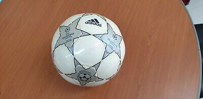 adidas UEFA Champions League Finale 2001-2002 Grey Star Official Match Ball OMB