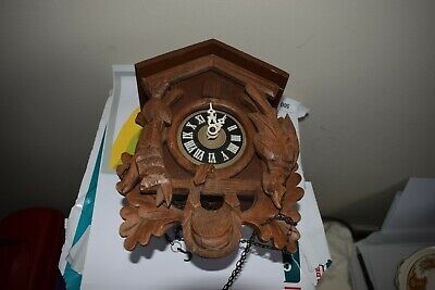 vintage black forest cuckoo clock for restore /spares regula 25