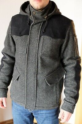 HERREN WINTER JACKE Spiewak & Sons USA WolleFilz S 46 48