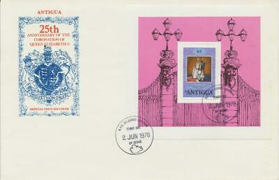 British Commonwealth Queen Elizabeth 25 Years Coronation - Silver Jubilee 13 Fdc