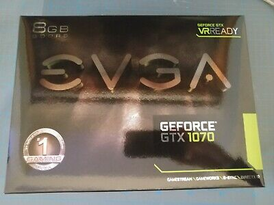 EVGA NVIDIA GeForce GTX 1070 8GB GDDR5 Gaming Grafikkarte