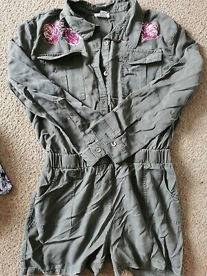 River Island Age 12 Girls Short Jumpsuit All-in-one