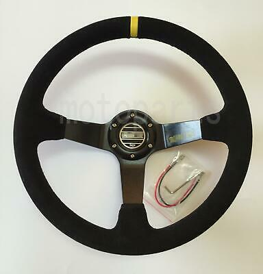 Red Metalflake 60s Style Steering Wheel 5-1//2 Dish 9-3//4 Inch O.D.