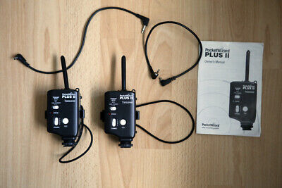 2 x Pocket Wizard Plus 2 Transceiver Units