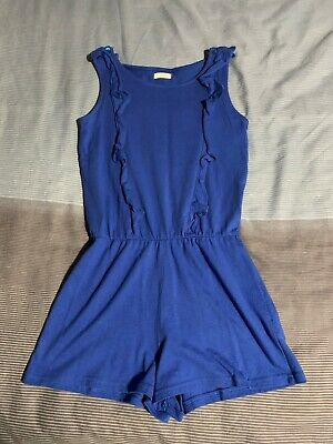 Girls NEXT Sleeveless Jumpsuit Style Summer Outfit. Age 8 - VGC