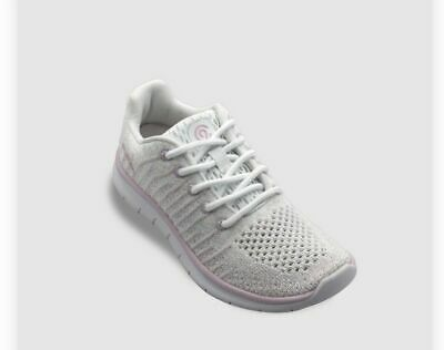 Girls Performance Athletic Shoes C9 Champions White Pink Style Focus 3 Sz 4 BL2
