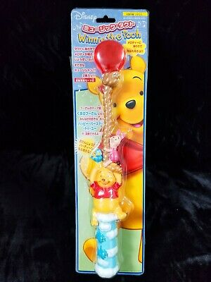 Rare Tenyo Winnie The Pooh Light Up Singing Magic Wand Mint New Disney