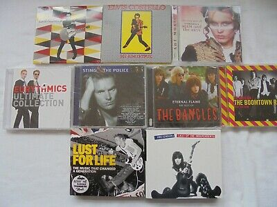 Rock New Wave cd bundle joblot collection. All in new condition. Some sealed.
