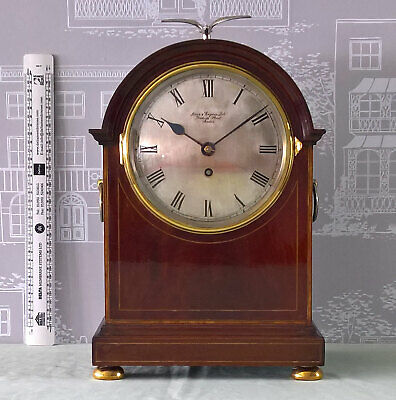 BRACKET CLOCK- Retailed by Birch & Gaydon Ltd. London with Coventry Movement.