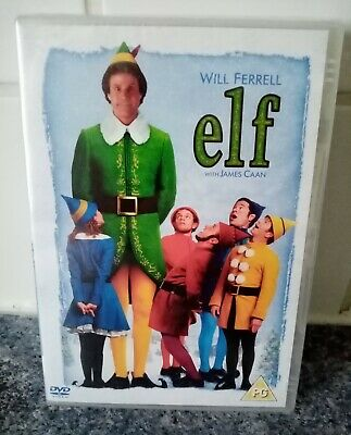 Elf - Will Ferrell, James Caan - Brand NEW & Sealed (Region 2) DVD