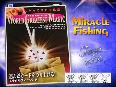 Tenyo 2020 Miracle Fishing Lasso The Chosen Card Close Up Street Magic Mint