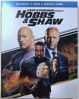Fast And Furious Presents: Hobbs & Shaw (Blu-ray/DVD/Digital Code, 2019) - NEW!