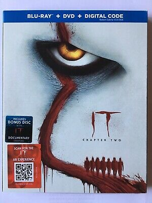 It: Chapter Two(Blu-Ray-Dvd+Digital)W/Slipcover New Ships 12/10/2019