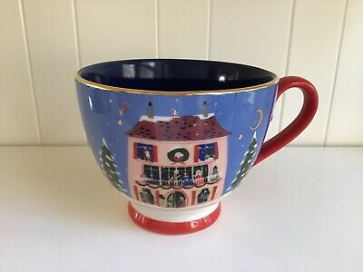 Anthropologie Rifle Paper Co. Nutcracker House Mug Christmas 2019