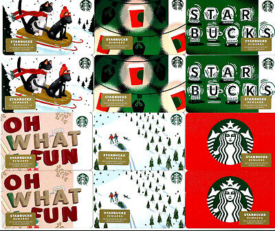 Starbucks Christmas 2019 Gift Cards-Lot Of 20 (Free S/H)