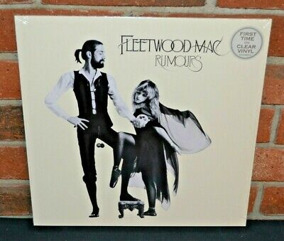 FLEETWOOD MAC - Rumours, Limited Import CLEAR COLOR VINYL LP New & Sealed!