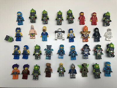 34 x LEGO Minifigure Joblot Bundle - Chima Power Miners Atlantis City Star Wars