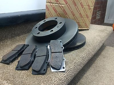Genuine Toyota Prius 1.5 Gen2 Front Brake Pads And Discs 2003 - 2008