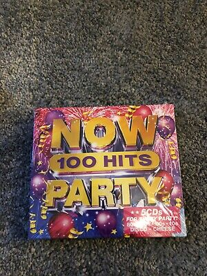 NOW 100 HITS PARTY 5 CD - Various Artists (Released November 29th 2019)