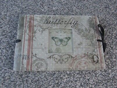 Small photo album (20 page) - butterfly & honeybee themed