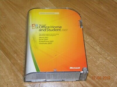 Microsoft Office Home and Student 2007 with product key FREE Shipping!