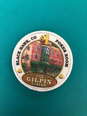 The Gilpen Casino Chip Black Hawk Colorado Issued 2005