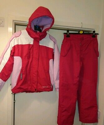 Parallel Ski Suit Trousers Jacket Pink Age 13-14 Snowboarding winter