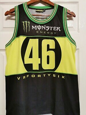 Used Official Valentino Rossi VR46  Monster Unisex Vest size M/L