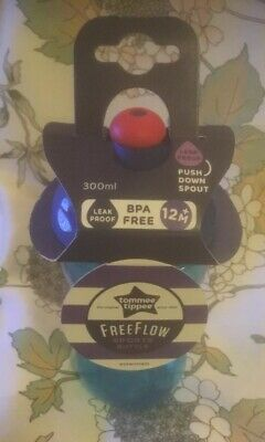 Unused Tommee Tippee Free Flow Children's Sports Bottle. With Tags