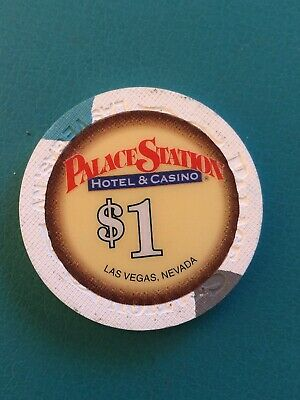 Palace Station Las Vegas Casino Chip Issued 2001
