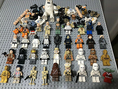 BIG LEGO Star Wars Minifigure Bundle Joblot Clone Stormtrooper Hoth Droids Yoda
