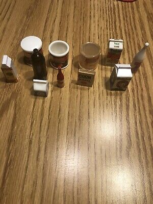 Kitchen Condiments For Barbie Pantry Food Items - No Doll